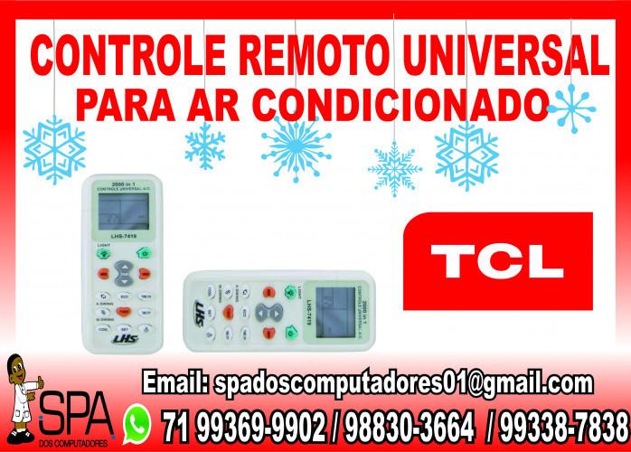 Controle Remoto Universal para Ar Condicionado Tcl em Salvador Ba