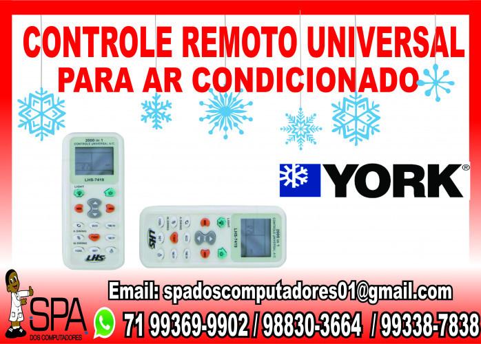 Controle Remoto Universal para Ar Condicionado York em Salvador Ba
