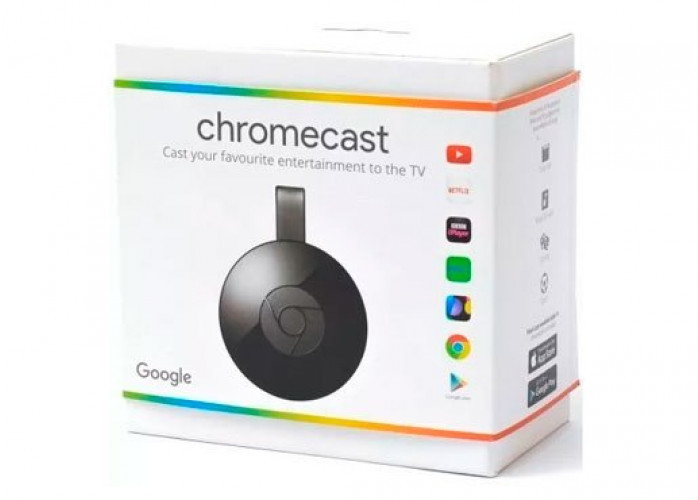 Google Chromecast Hdmi 1080p Streaming - Transforma para TV Smart