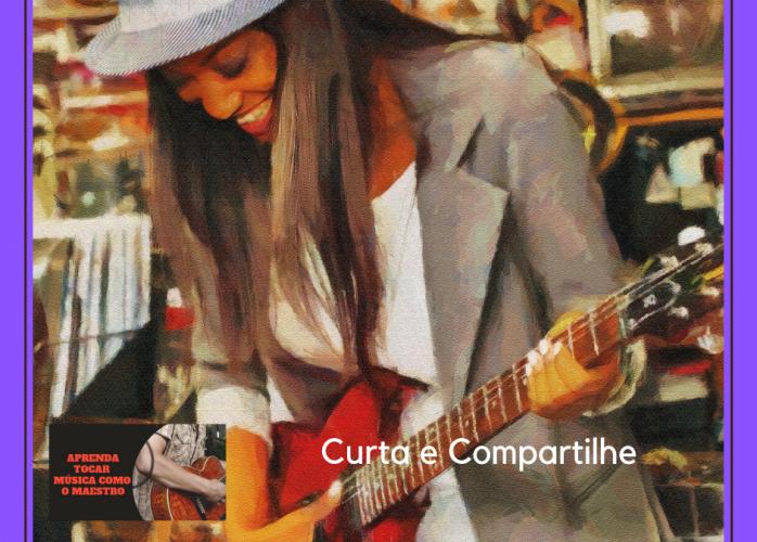 Aprenda tocar  Guitarra Rock com mestre