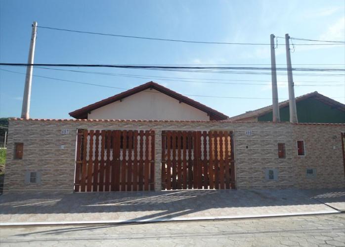 Imovel para financiar com os bancos em Itanhaém, casa linda na praia.