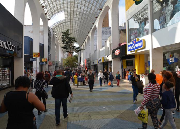 Excelente Ponto Comercial 120 m² no Calçadão Oliveira Lima, Centro - Santo André.