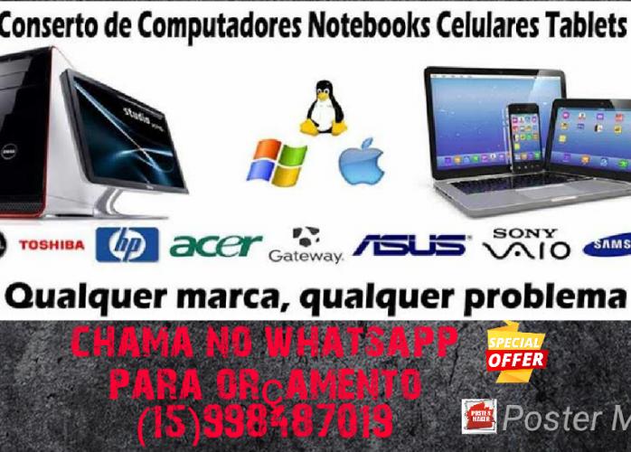 Manutenção completa computadores notebooks MacBook