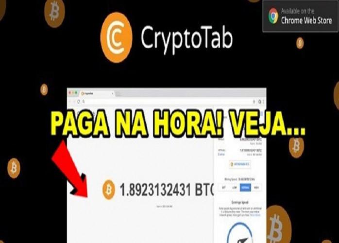 CryptoTab Browser Minere Bitcoin Grátis Facilmente