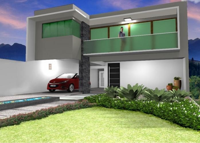 Projeto casa 3D Revit