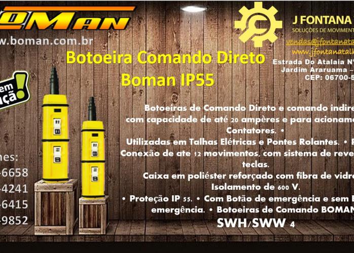 Botoeira Boman IP55