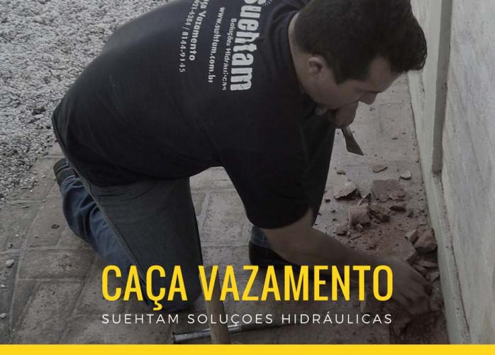 Detector de Vazamentos  Monteiro Lobato
