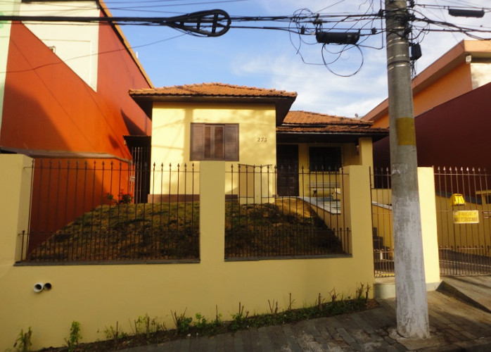 Casa Comercial com Edícula 191 m² no Centro de São Bernardo do Campo.