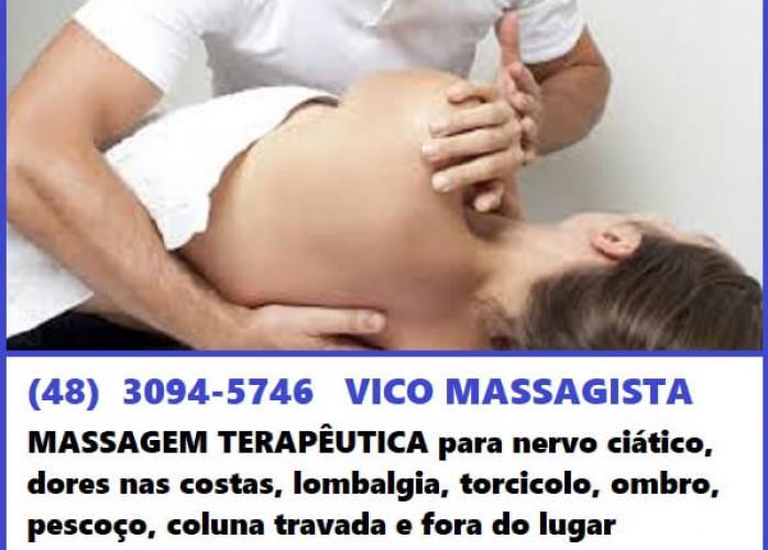 Vico Massagista - Massagem Terapêutica, Massoterapia e Reflexologia – São José (SC)
