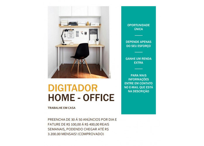 HOME OFFICE (RENDA EXTRA)