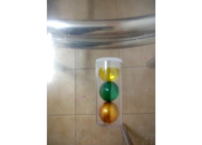 Bolinhas explosivas lubrificantes e aromatizante
