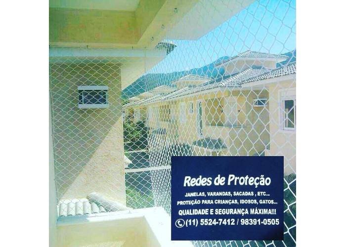 Redes de Proteção na Estrada de Itapecerica, Vila das Belezas.