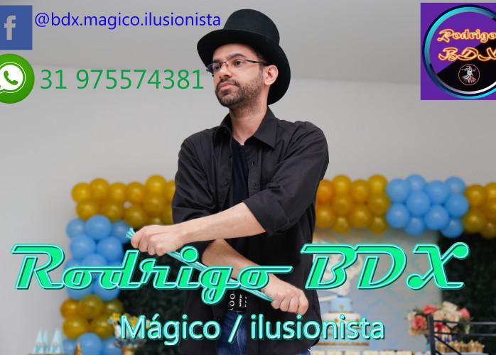 Rodrigo BDX  Mágico / ilusionista