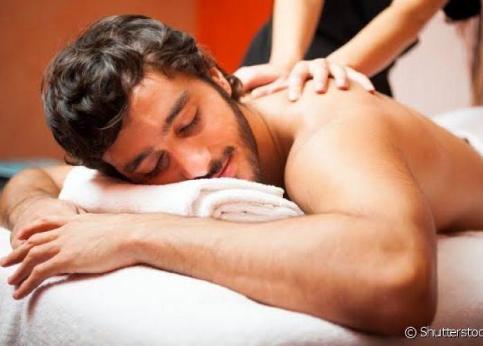 Massagens e estetica masculina