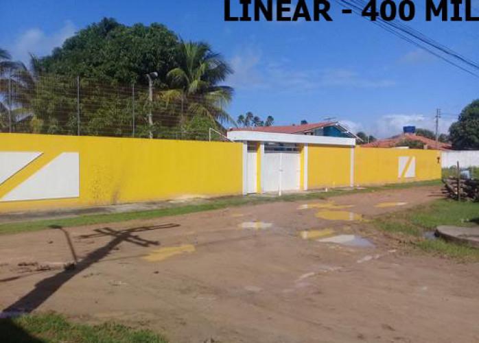 IPIOCA-COND.SAUAÇUHY-CASA TERREA 4 SUITES LAZER COMPLETO 2 LOTES