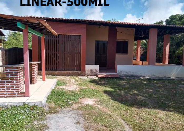 IPIOCA-COND.SAUAÇUHY-CASA TERREA 3 QTS - 3 LOTES-1200M²