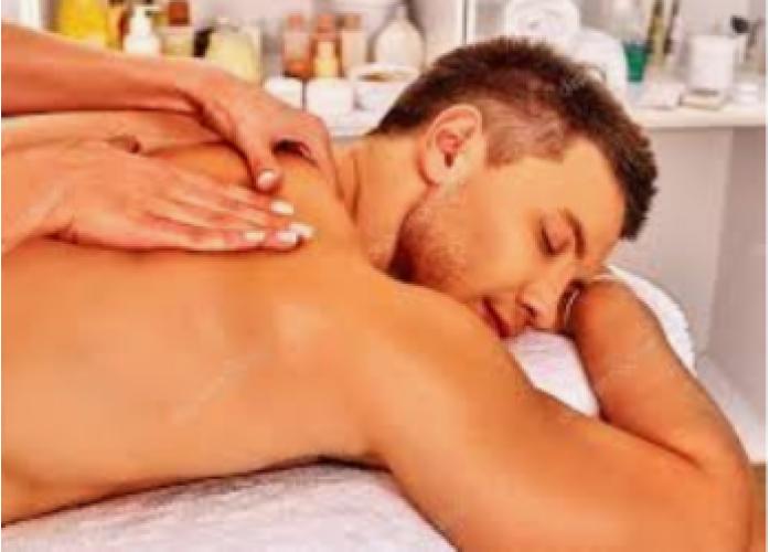 Ju massagem... Se de esse presente...