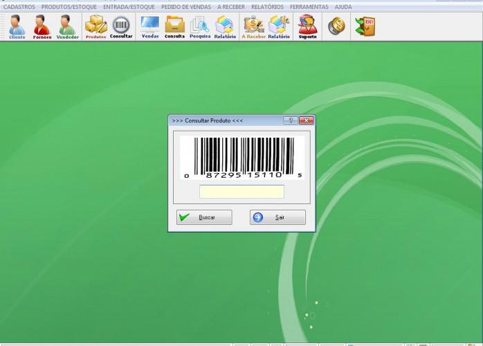 Programa para pedido de Vendas e Estoque v1.0 - FpqSystem