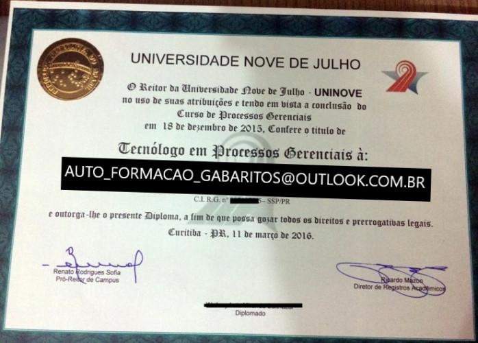 Vendo Gabaritos para concurso em 2019 online / vendas de Diplomas e Certificados  auto_formacao_gabaritos@outlook.com.br