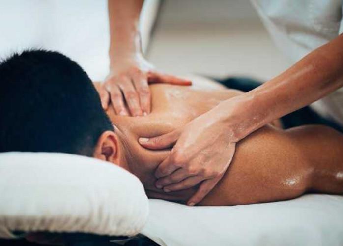 Prazer com massagem