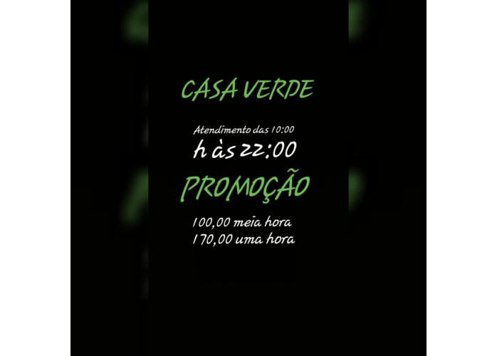 Hoje Promoção $100 meia hora na Casa Verde !!!