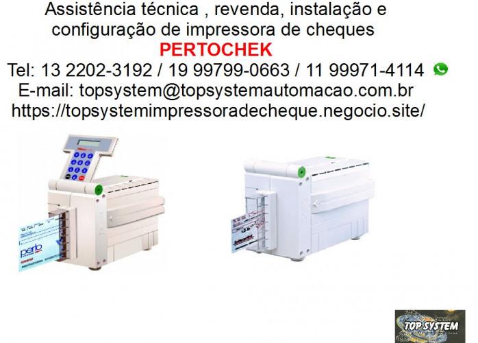 Impressora de cheque Pertochek em Campinas