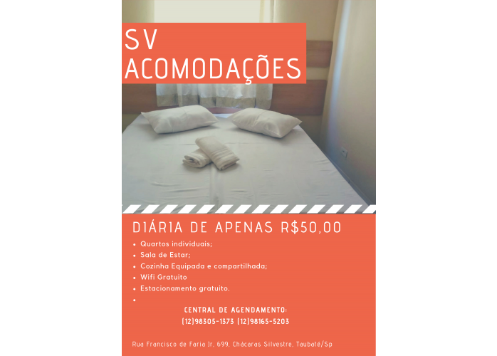 Pousada em Taubaté Vale do Paraíba e região