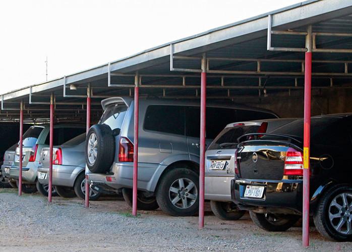 Excelente Estacionamento 800 m² Parcialmente Coberto no Centro de Santo André.
