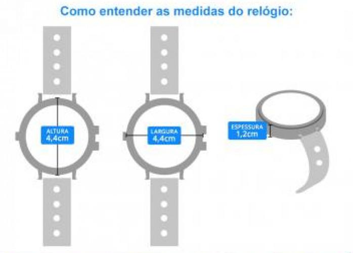 Relógio Masculino Citizen Analógico Esportivo - TZ30437Q Prata