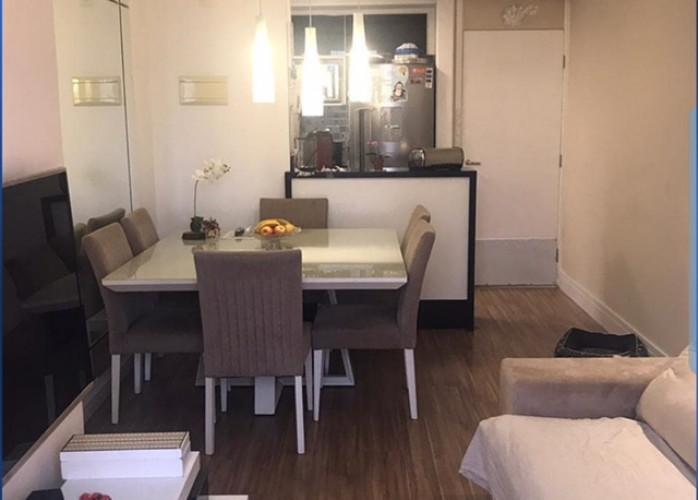 Lindo Apartamento 3 Dormitórios 61 m² na Vila Prudente - São Paulo. Sala 2 ambientes com sacada, cozinha americana, área