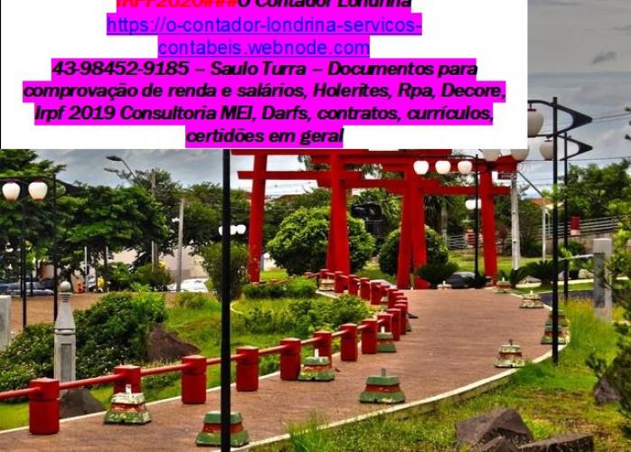 KAIRÓS CONTADOR2020###imposto de renda Londrina-Paraná