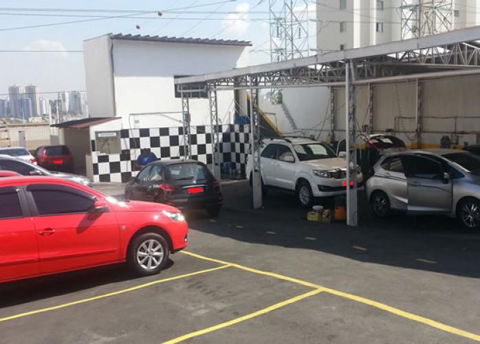 Lava Rápido Ecológico e Estacionamento em Santo André - Bairro Nobre.