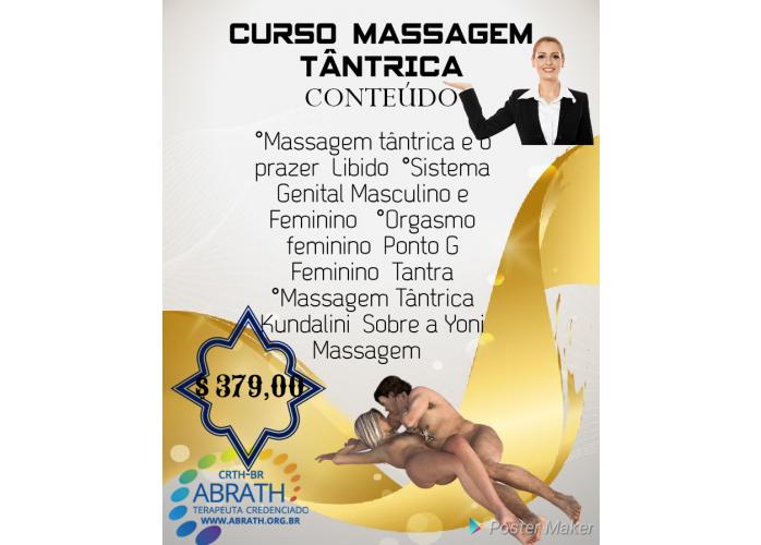 Terapia Tântrica e curso de massagem