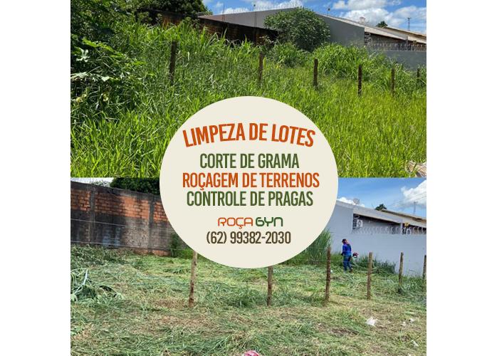 Roçagem de Lotes e Terrenos em Goiânia e Aparecida de Goiânia