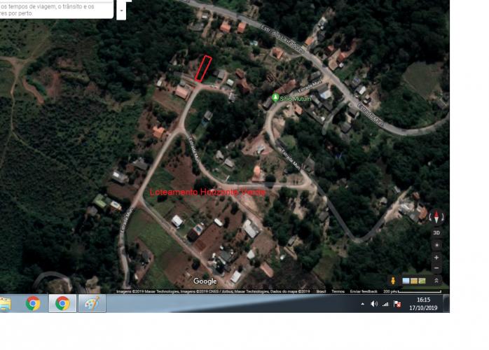 Terreno com 1.000 m2 em Piedade