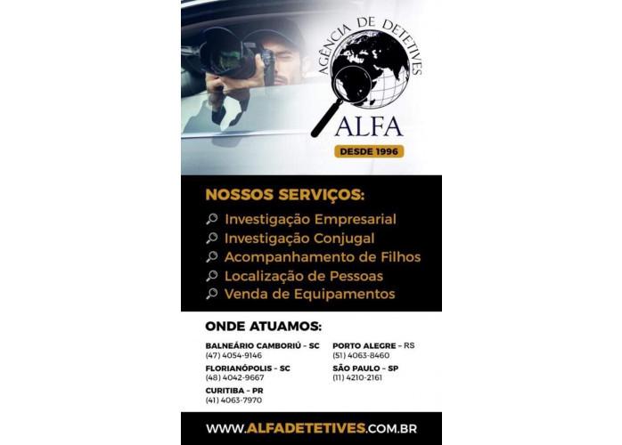 Alfa Detetives Particulares - Agencia de Investigação Particular