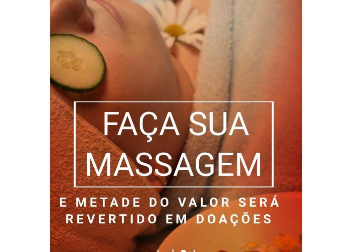 Faça massagem e ajude familias carentes