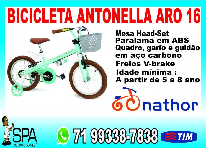 Bicicleta Antonella Aro 16 em Salvador Ba
