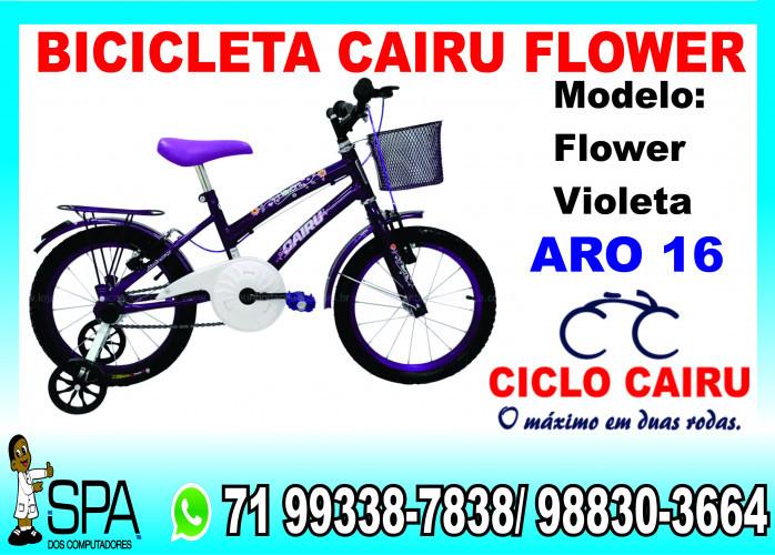 Bicicleta Cairu Flower Aro 16 em Salvador Ba