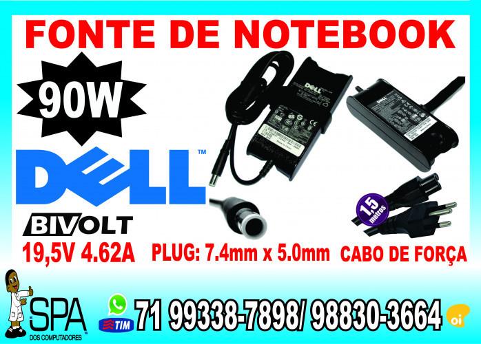 Fonte Carregador Para Notebook e Netbook Acer 19v 3.42a 65w Plug 5.5mm x 1.7mm em Salvador Ba