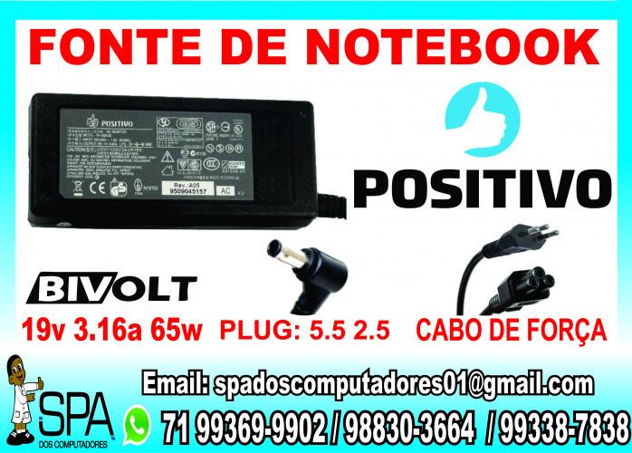 Fonte Carregador Para Ultrabook LG 19.5v 2.05a 40w 4.0mm x 1.7mm em Salvador Ba