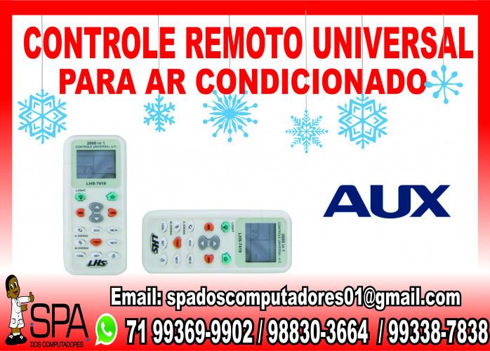 Controle Universal para Ar Condicionado Aux em Salvador Ba