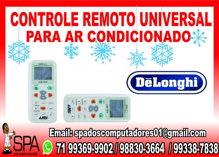 Controle Universal para Ar Condicionado Delonghi em Salvador Ba