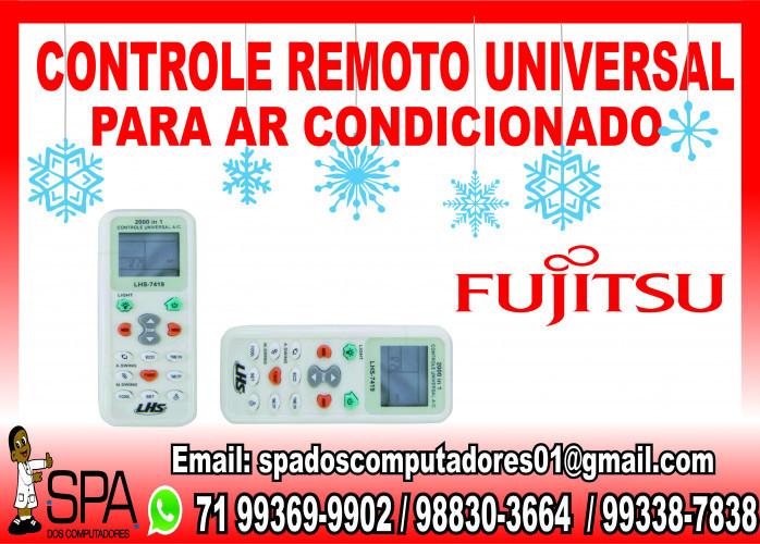 Controle Universal para Ar Condicionado Fujitsu em Salvador Ba