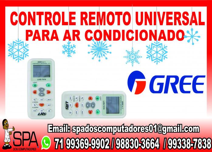 Controle Universal para Ar Condicionado Gree em Salvador Ba