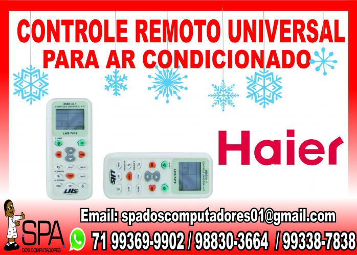 Controle Universal para Ar Condicionado Haier em Salvador Ba