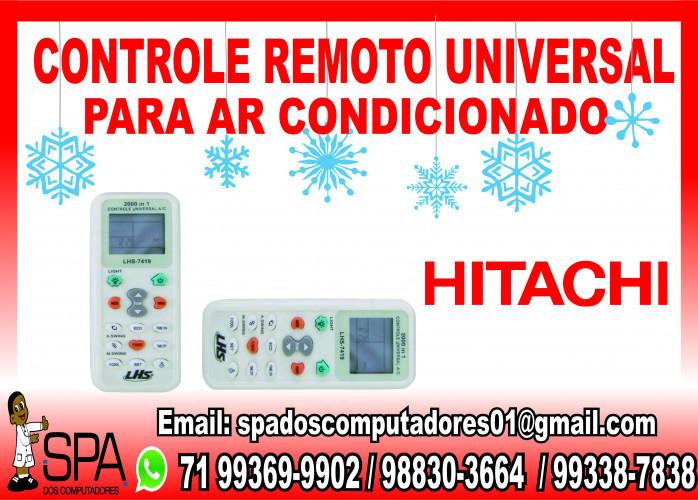 Controle Universal para Ar Condicionado Hitachi em Salvador Ba