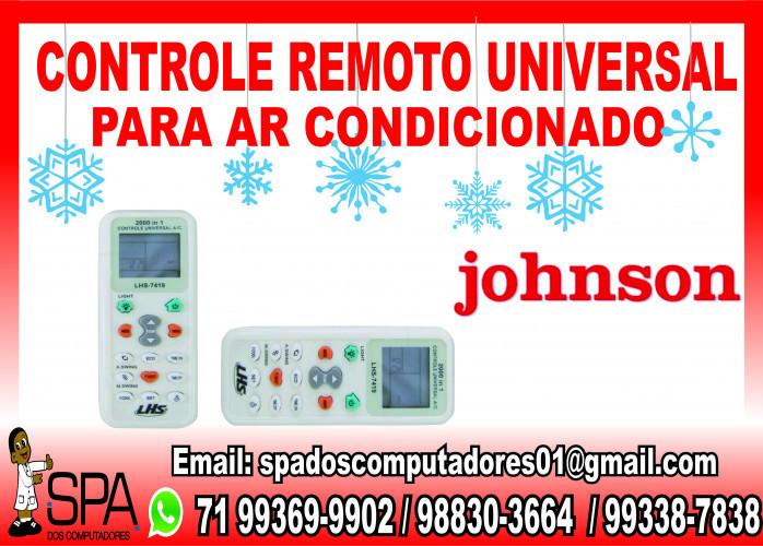 Controle Universal para Ar Condicionado Johnson em Salvador Ba