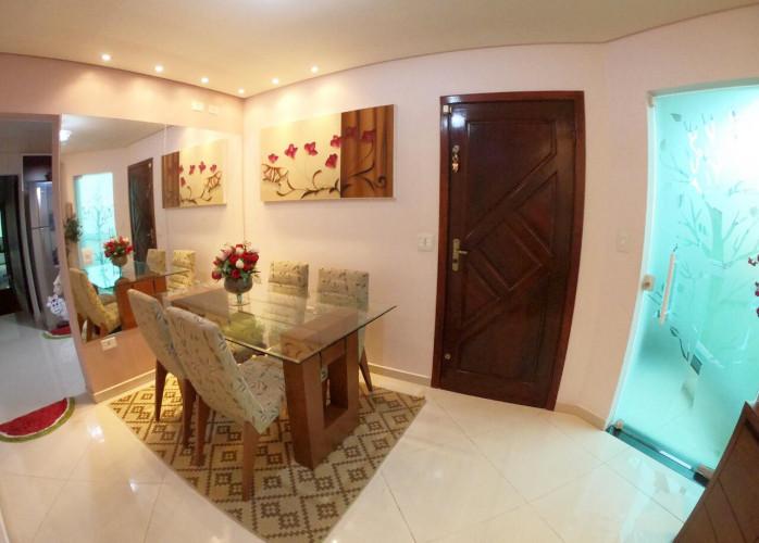 Apartamento Sem Condomínio Mobiliado 75 m² em Santo André - Jardim Milena.