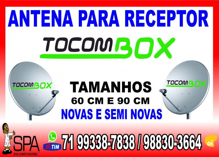 Antenas Banda KU 60cm e 90cm para Receptores Tocombox em Salvador Ba